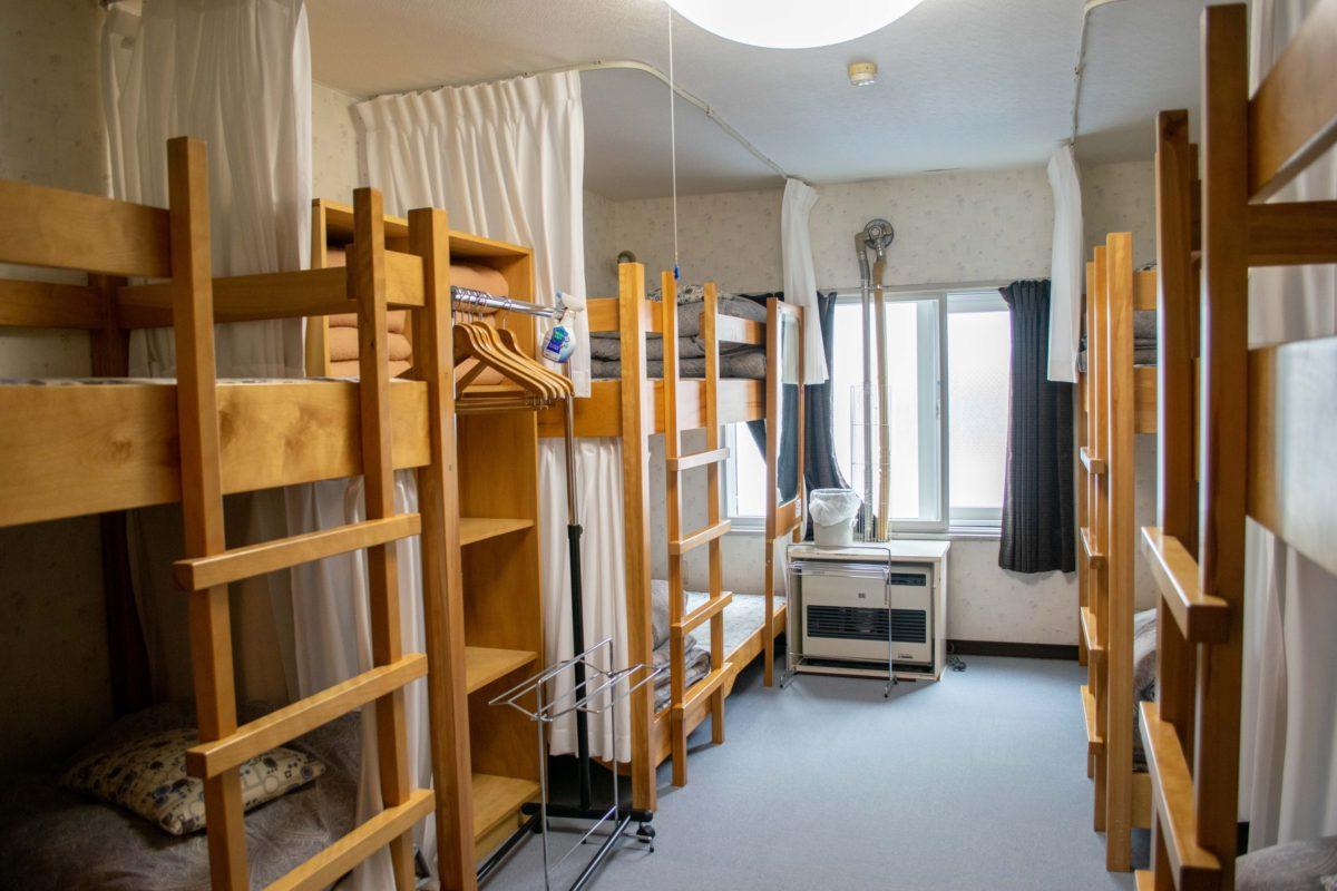 【ドミトリー】2段ベッドの8人用相部屋 | [Dormitory] Bunkbeds for 8 people