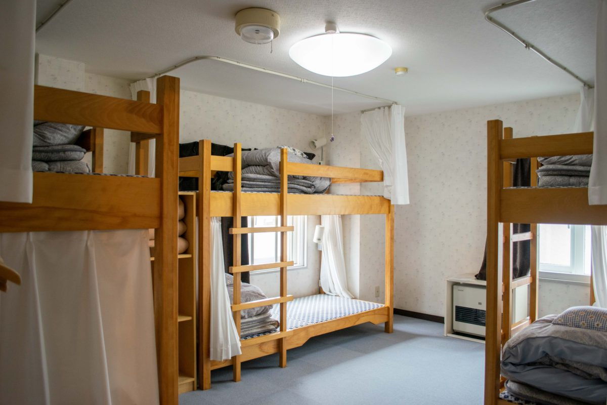 【ドミトリー】2段ベッドの6人用相部屋   [Dormitory] Bunkbeds for 6 people
