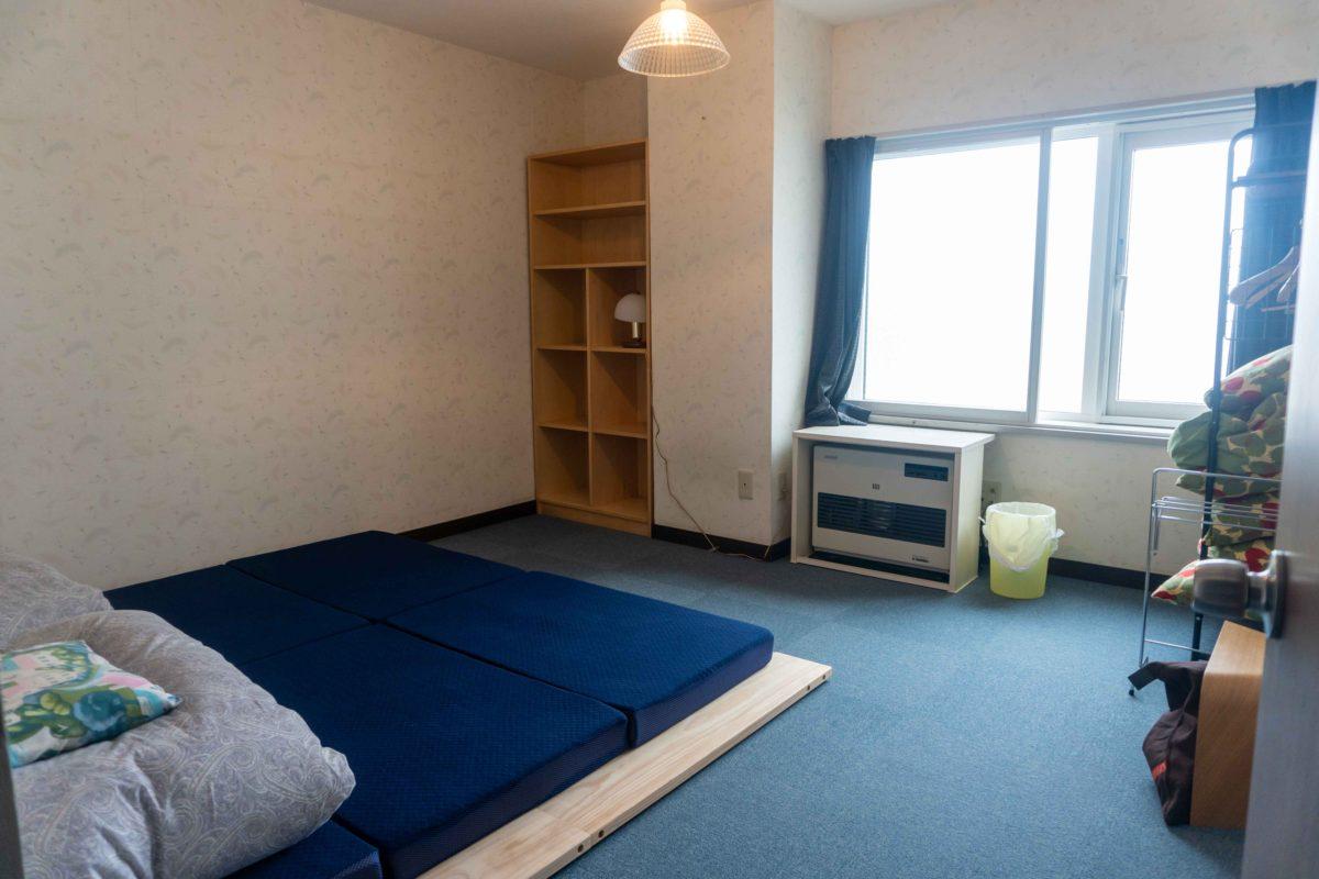 【個室】2つの布団の部屋   [Private] 2 Beds Room
